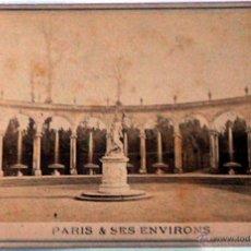 Postales: ANTIGUA Y RARA POSTAL DE PARIS, VERSAILLES, ¿ANC. MAISON MARTINET?, SOBRE 1880. Lote 51015974