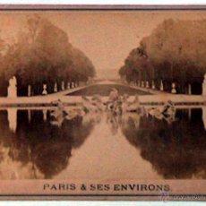 Postales: ANTIGUA Y RARA POSTAL DE PARIS, VERSAILLES, ¿ANC. MAISON MARTINET?, SOBRE 1880. Lote 51015998