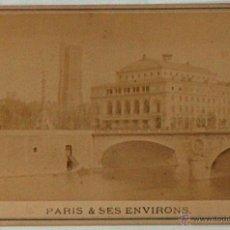 Postales: ANTIGUA Y RARA POSTAL DE PARIS, THEATRE DU CHATELET, ¿ANC. MAISON MARTINET?, SOBRE 1880. Lote 51016022