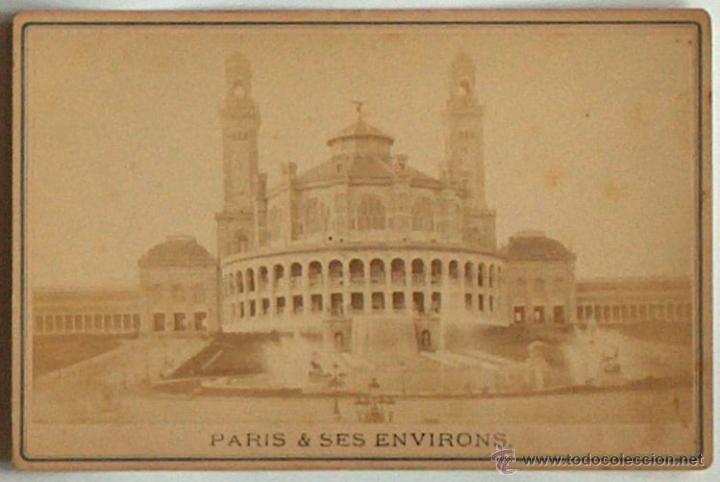 ANTIGUA Y RARA POSTAL DE PARIS, LE TROCADERO, ¿ANC. MAISON MARTINET?, SOBRE 1880 (Postales - Postales Extranjero - Europa)
