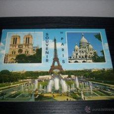 Postales: POSTAL DE PARIS -- ESCRITA 1972 Y CON SELLO --. Lote 51035672