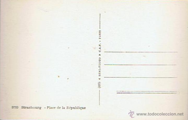 Postales: ANTIGUA POSTAL ¨PLACE DE LA RÉPUBLIQUE¨ PARÍS - Foto 2 - 51073016
