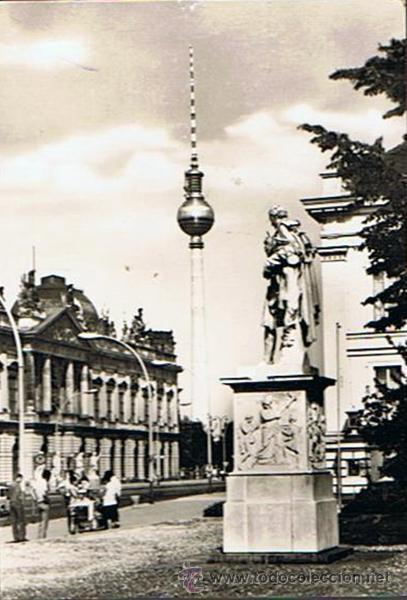 ANTIGUA POSTAL ¨TURM DER DEUTSCHEN POST BERLIN¨ALEMANIA (Postales - Postales Extranjero - Europa)
