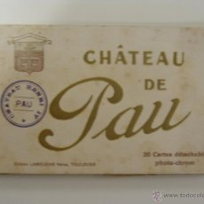 Postales: BLOQUE LIBRITO CHATEAU DE PAU 20 POSTALES. Lote 51148981