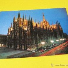 Postales: POSTAL DUOMO DE MILAN (ITALIA) DUOMO MILANO.. Lote 51602689