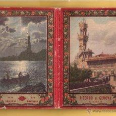Postales: RECORDATORIO DE GENOVA EDIDOR RISERVATA SERIE 150 / 32 POSTALES VER FOTOS ADICIONALES . Lote 51651205