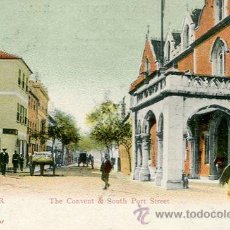 Postales: GIBRALTAR--THE CONVENT & SOUTH PORT STREET---1900. Lote 51710790