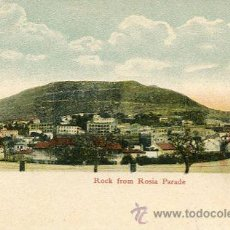 Postales: GIBRALTAR---ROCH FROM ROSIA PARADE. Lote 51711079