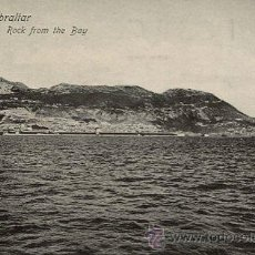 Postales: GIBRALTAR---ROCK FROM THE BAY. Lote 51711711