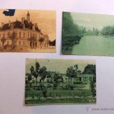 Postales: ANTIGUAS TRES POSTALES DE RAYMOND BERGEVIN AÑOS 20-30. Lote 52137537