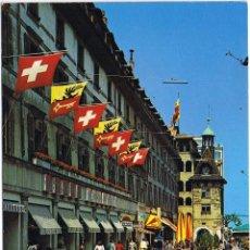 Postales: SUIZA - GENEVE - LA PLACE DU MOLARD - CIRCULADA. Lote 52147875