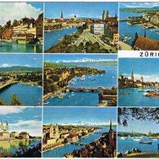 Postales: SUIZA - ZURICH - CIRCULADA. Lote 52147885