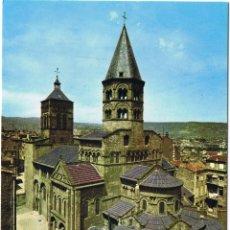 Postales: FRANCIA - CLERMONT FERRAND - BASILICA NOTRE DAME DU PORT. Lote 52153754
