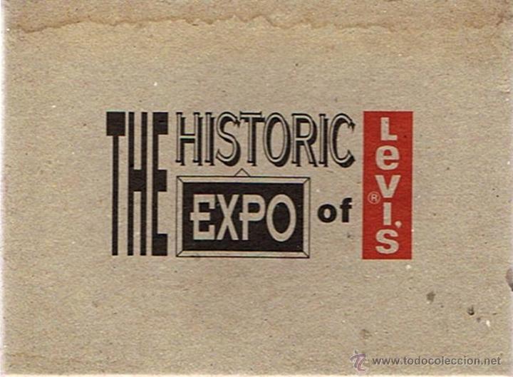 LOTE 12 POSTALES ¨THE HISTORIC EXPO OF LEVI´S¨ (Postales - Postales Extranjero - Europa)