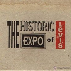 Postales: LOTE 12 POSTALES ¨THE HISTORIC EXPO OF LEVI´S¨ . Lote 52228078