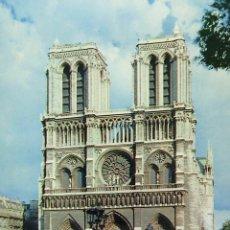 Postales: POSTAL, FRANCIA, PARIS, NOTRE DAME, CIRCULADA. Lote 52386160