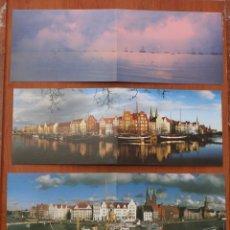 Postales: COLECCIÓN 5 POSTALES DOBLES LUEBECK ALEMANIA – MAGNIFICAS FOTOGRAFIAS COLOR DE THOMAS RADBRUCH 5. Lote 52575715