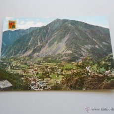 Postales: POSTAL VALLS D' ANDORRA. LES ESCALDES I ANDORRA LA VELLA. TDKP6. Lote 52674705