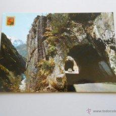 Postales: POSTAL VALLS D' ANDORRA. TUNELES DE LA MASSANA. TDKP6. Lote 52674716