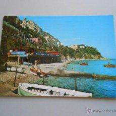 Postales: POSTAL MARINA GRANDE Y PLAZA ONDINE. CAPRI. TDKP6. Lote 52675674