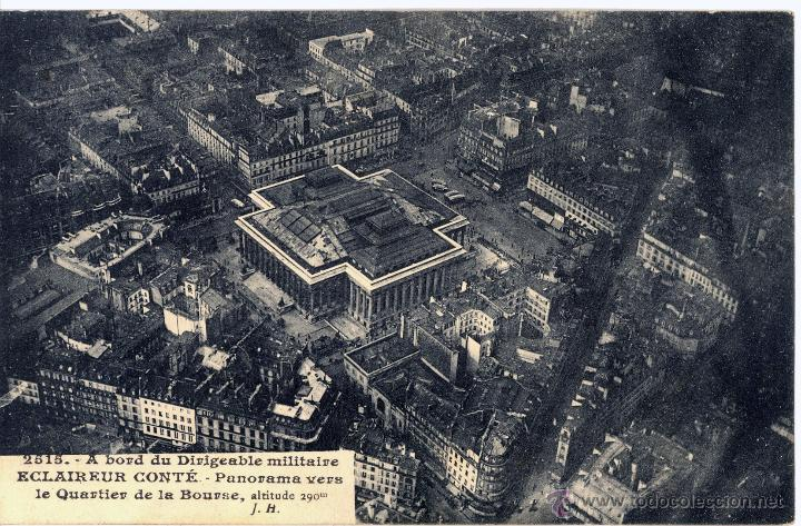Postales: 6 postales aéreas J Hauser tomadas a bordo del dirigible militar Esclaireur-Conte 1908 - Foto 5 - 52815824