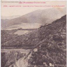 Postales: P- 3495. POSTAL DE LES PYRENEES ORIENTALES. Nº 434. MONT-LOUIS. ARRIVE D'UN TRAIN. LABOUCHE.. Lote 52882781