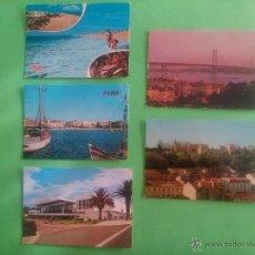 Postales: LOTE ' POSTALES LISBOA - FARO - ESTORIL ' ANTIGUAS. Lote 52935841
