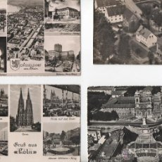 Postales: POSTALES-LOTE DE 4 POSTALES DE ALEMANIA. Lote 53190608