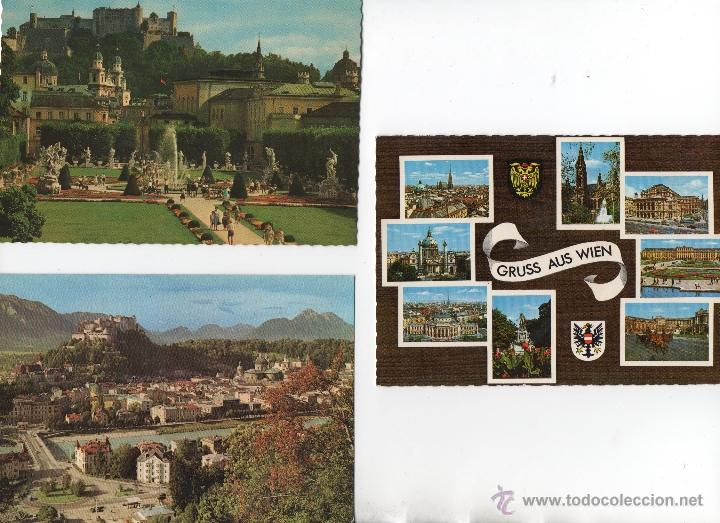 POSTALES-LOTE DE 3 POSTALES DE AUSTRIA (Postales - Postales Extranjero - Europa)