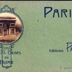 Postales: T. POSTALES PARIS LES BELLES CHOSES DE FRANCE ED. PATRAS SERIE 4. Lote 53261066