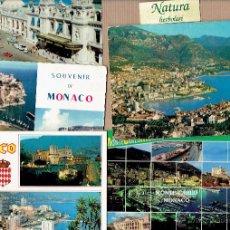 Postales: MÓNACO MONTECARLO 5 POSTALES. Lote 53356850