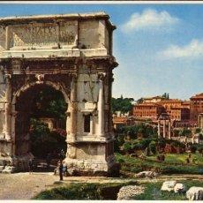 Postales: MAGNIFICA POSTAL ARCO DE TITO ROMA (ITALIA). Lote 53629154