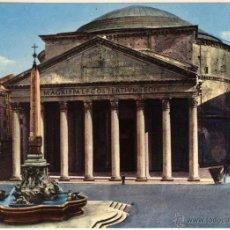 Postales: MAGNIFICA POSTAL IL PANTHEON ROMA (ITALIA). Lote 53629451