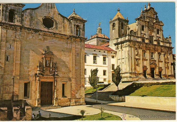 MAGNIFICA POSTAL DE IGLESIA DE SAN SALVADOR COIMBRA (PORTUGAL) (Postales - Postales Extranjero - Europa)