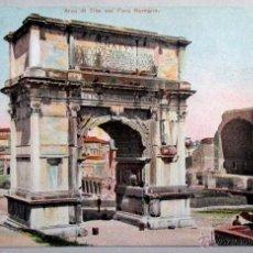Postales: POSTAL ITALIA , ROMA , ARCO DI TITO , ORIGINAL - P2249. Lote 53781163