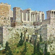 Postales: POSTAL, ATENAS, GRECIA, ACRÓPOLIS, CIRCULADA. Lote 53829407