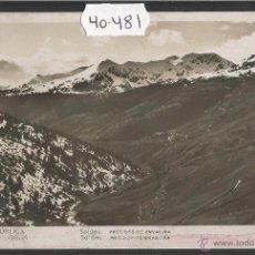 Postales: REPUBLICA D'ANDORRA - 27 - SOLDEU - FOTOGRAFICA V. CLAVEROL - VER REVERSO CIRCULADO - (40481). Lote 53963084