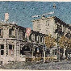 Postales: HOTEL DE LAUSANNE (SIN CIRCULAR) . Lote 54043228