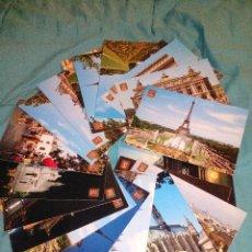 Postales: COLECCION 20 POSTALES PARIS (FRANCIA) EDIT. ESCUDO ORO AÑOS'70 SIN CIRCULAR. Lote 54115411