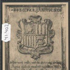 Postales: VALLS D'ANDORRA - 128 - ESCUT - FOT· V. CLAVEROL - (41402). Lote 54546322