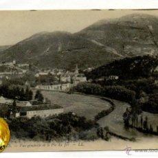 Postales: POSTAL LOURDES VUE GENERALE ET LE PIC DU JER . Lote 54563835