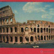 Postales: 602 ITALIA ITALIE ITALY ROMA ROME IL COLOSSEO LE COLISEE COLOSEUM KOLOSSEUM 1965. Lote 54620787