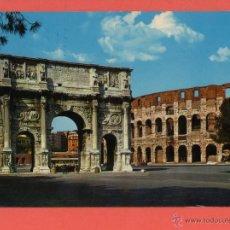 Postales: 603 ITALIA ITALIE ITALY LAZIO ROMA ROME COLOSSEO E ARCO DI COSTANTINO 1972. Lote 54620845
