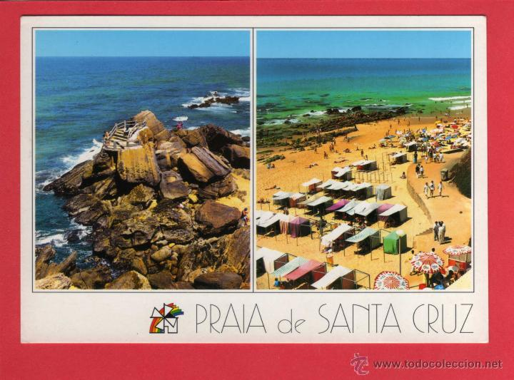 646 PORTOGALLO PORTUGAL LEIRIA PRAIA DE SANTA CRUZ TORRES VEDRAS (Postales - Postales Extranjero - Europa)