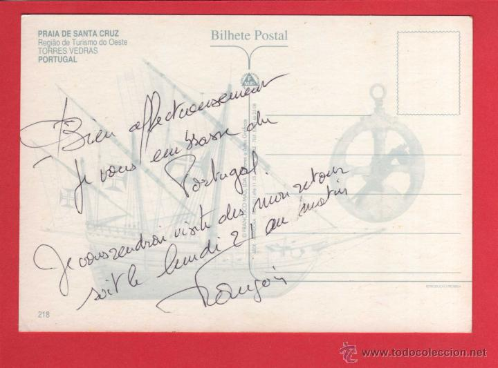 Postales: 646 Portogallo Portugal Leiria PRAIA DE SANTA CRUZ Torres Vedras - Foto 2 - 54626422