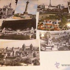 Postales: LOTE 13 POSTALES ANTIGUAS DE PARIS, Y ALGUNAS DE FRANCIA. Lote 54637754