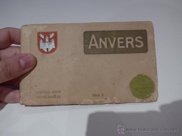 ANTIGUAS POSTALES DE ANVERS, BRUSELAS, BELGICA, POSTAL (Postales - Postales Extranjero - Europa)