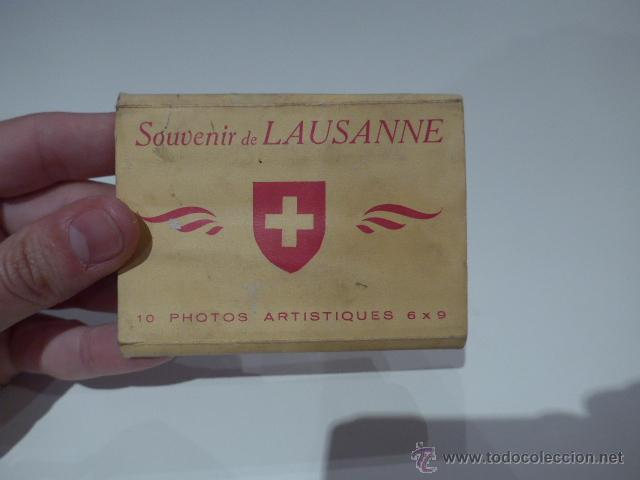 ANTIGUAS POSTALES DE LAUSANNE, BELGICA, POSTAL ANTIGUA (Postales - Postales Extranjero - Europa)