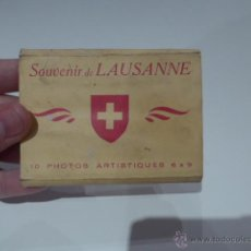 Postales: ANTIGUAS POSTALES DE LAUSANNE, BELGICA, POSTAL ANTIGUA. Lote 54691503
