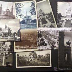 Postales: LOTE DE 10 ANTIGUAS POSTALES DE PARIS DE LOS AÑOS 30, 40, 50. VER FOTOGRAFIAS . Lote 54769353